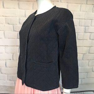 Eileen Fisher Soft Denim Shirt/Jacket
